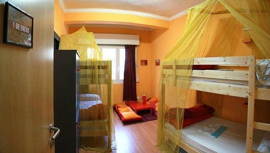Hostel Hemingway : Habitación 4 camas