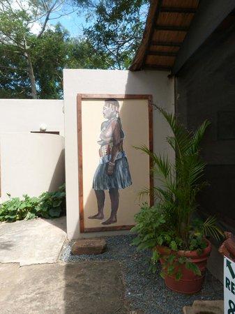 Gooderson DumaZulu Lodge and Traditional Zulu Village : Ladies toilet