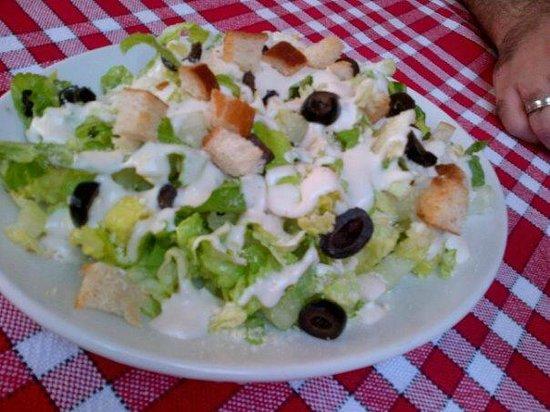 Mama Pizza : caesar salad