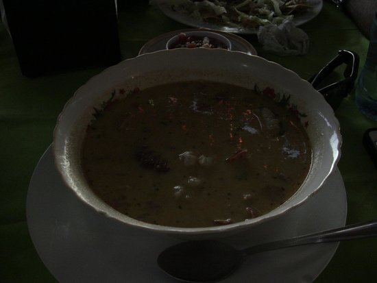 Restaurante Lago Azul: Seafood soup