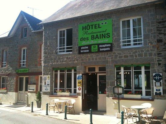 Hôtel - Restaurant Des Bains : l'Hôtel-Restaurant