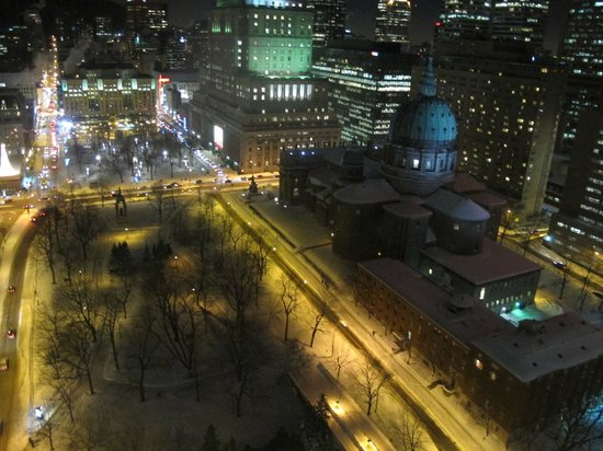 Montreal Marriott Chateau Champlain: Vista do quarto