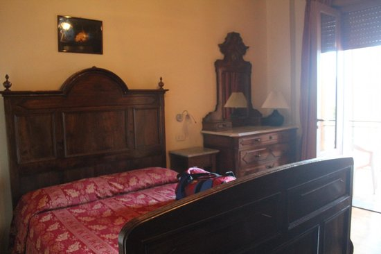Albergo Monterosa: letto
