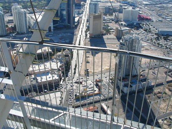 Stratosphere Hotel, Casino and Tower: Blick auf den Strip