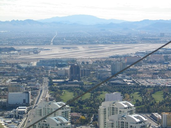 Stratosphere Hotel, Casino and Tower: Las Vegas vom Tower