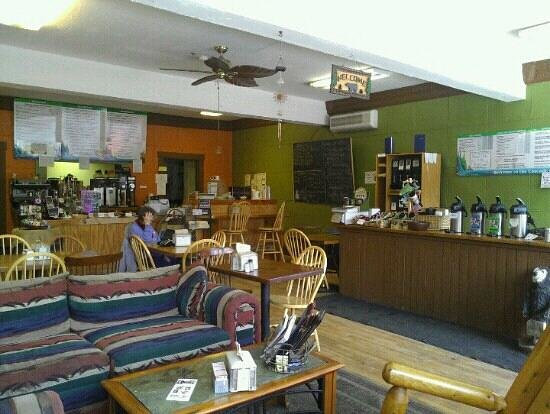 Cascade Coffeehouse and Cafe : Great lunch - soup and sandwich today.