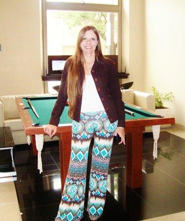 Hotel San Pedro Palace : Foto tomada al retirarme del hotel en el salón de ingreso, por una de las chicas de recepción.-