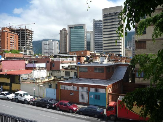Posada Altamira Caceres: vista del barrio dal terrazzo