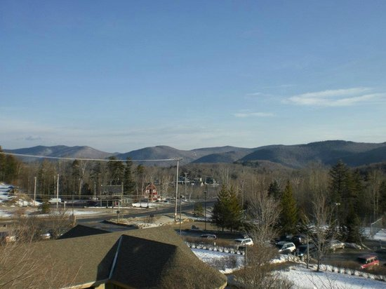 Killington Mountain Lodge: view from room