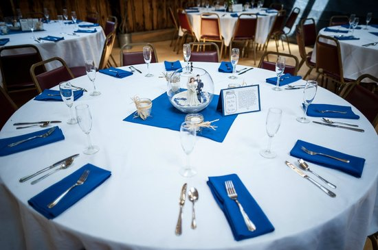 Starksboro, VT: The dining hall makes a perfect setting for receptions and celebrations.