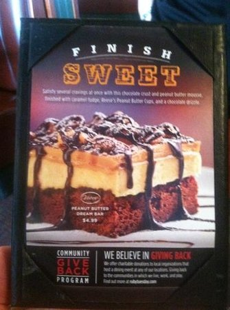 Ruby Tuesday: I highly recommend this!