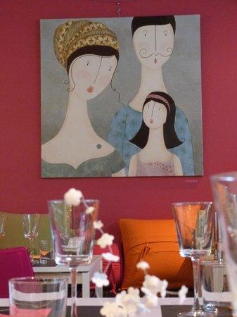 La Cuisine de Lolie : Tableau d'Alexandra de Prinsac