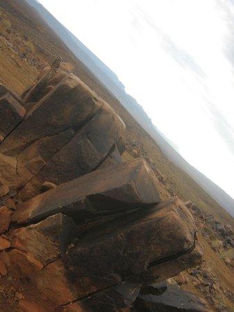Boumalne Dades, Marokko: roché