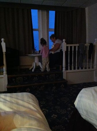 Doric Hotel: myself and ruby in the bedroom