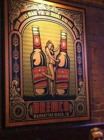 Manhattan Beach Brewing Company: fun and quirky