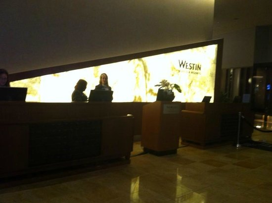 The Westin New York Grand Central: Lobby & check in
