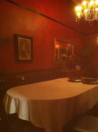 Dom Pedros : Large table @ don pedros