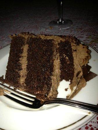 Michael's Gourmet Room: the Parisienne chocolate cake