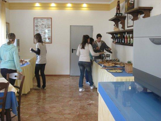 Hotel Irene: colazione a buffet abbondante!!!!