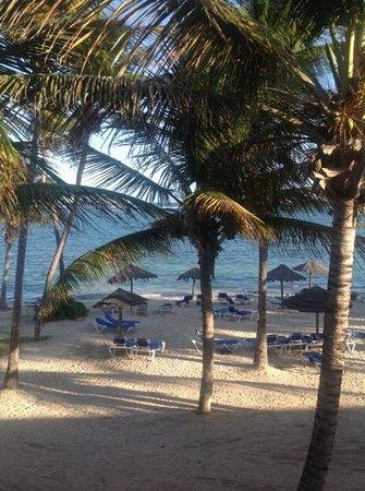 St. James's Club & Villas: Coco beach from room 372