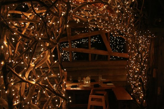 The Treehouse Restaurant At Alnwick Garden A Magical Christmas Meal