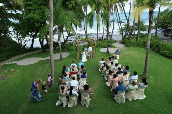 Ylang Ylang Beach Resort: The beautiful wedding location