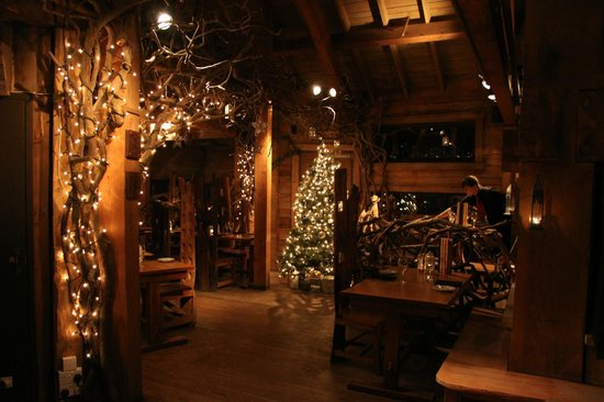 A magical christmas meal picture of the treehouse