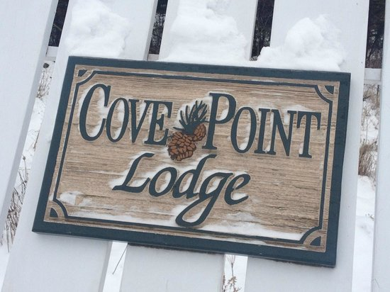 ‪كوف بوينت لودج: Welcome to Cove Point Lodge