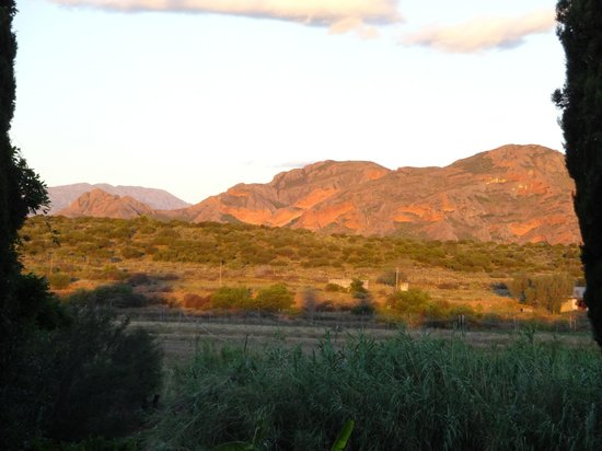 Thabile Lodge: Spectacular Swartberg sunsets