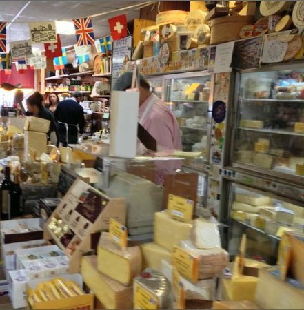 The Concord Cheese Shop : Cheese Counter