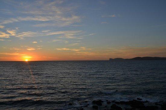 La Posada sul Golfo: foto dalla terrazza