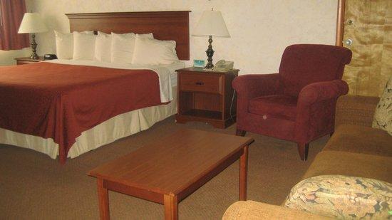 Magnuson Hotel Copper Crown: king suite