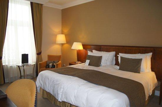 โรงแรมโครินเธีย บูดาเปสต์: Кровать