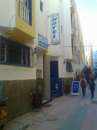 Hotel Cap Sim : devant l hotel