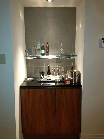 The Dupont Circle: Mini Bar Area