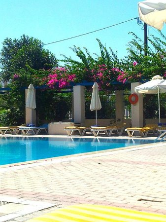 Nissia Kamares Hotel Apartments: Pool area
