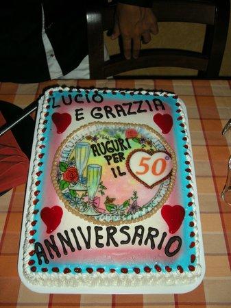 Torta Anniversario 50 Anni Matrimonio Bild Von Pasticceria D Arte