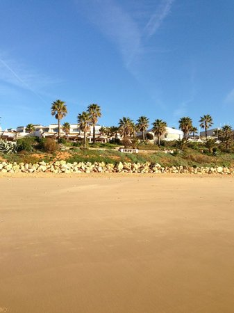 Grande Real Santa Eulália Resort & Hotel Spa: View from the Beach