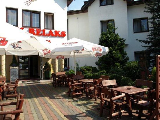 Hotel Relaks : Terrace