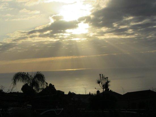 La Cancelita: Zonsondergang vanaf het terras
