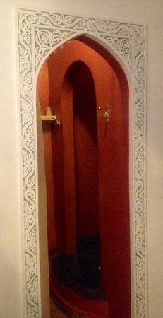 Riad Asna: salle de douche Douria