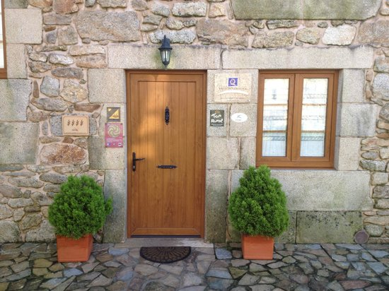 Casa de Trillo: la puerta principal