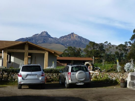 Chuquiragua Lodge: View
