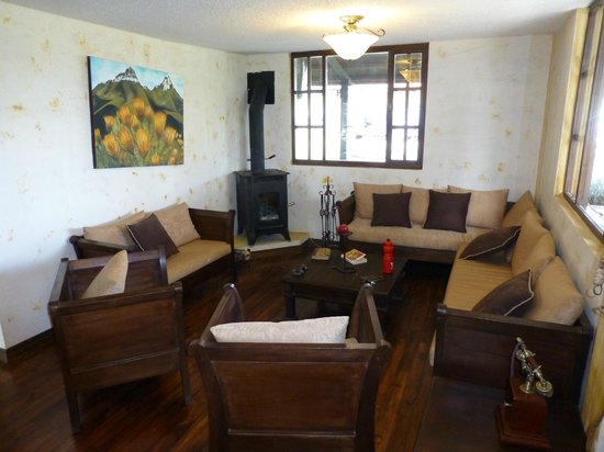 Chuquiragua Lodge: Common area