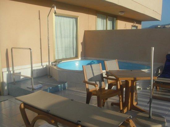 Cleopatra Palace Hotel: Balcony Pool