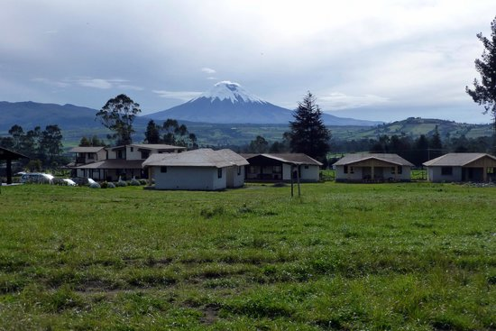 Chuquiragua Lodge & Spa: View of Cotopaxi