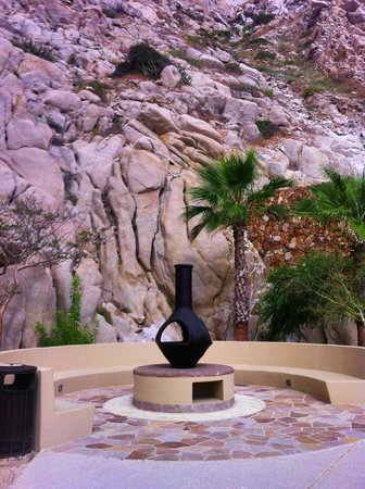Grand Solmar Land's End Resort & Spa: the fire pit