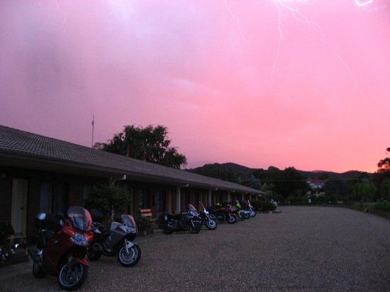 Tumut Valley Motel : We rode through it all