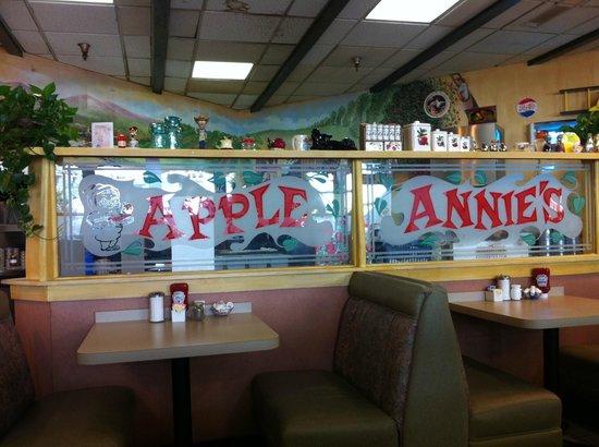 Apple Annie's: View of Kitchen