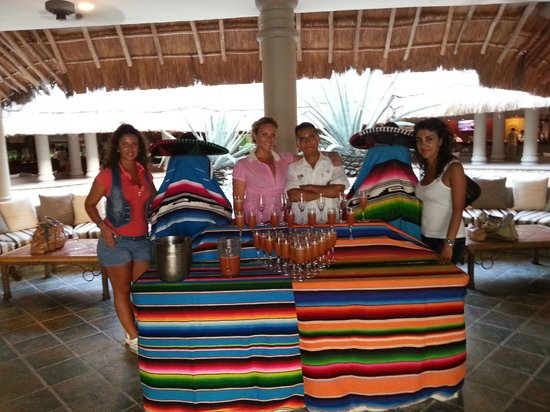 Catalonia Playa Maroma: cocktail di benvenuto